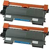 2x Tisanto Rebuilt XXL Toner für Brother TN2010, TN 2010, TN-2010, DCP 7055W, DCP7055W, FAX 2940, FAX 2840, FAX 2845. - BLACK - Leistung: ca. 5200 Seiten