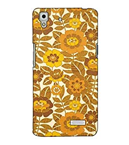 Fuson Designer Back Case Cover for Oppo R7 :: Oppo R7 Lite (Flowery pattern theme)
