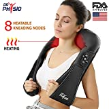Dr Physio (USA) Electric HEAT Shiatsu Massager Machine Body Massagers ( For Cervical Neck Shoulder & Back Pain Relief )