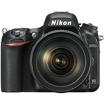 Nikon D750 Appareil photo numérique Reflex 24,3 Mpix Kit Boîtier + Objectif 24-120 mm Noir
