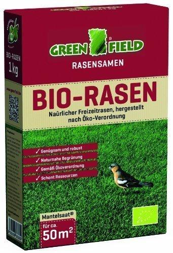 Greenfield 62161 Bio-Rasen 1 kg für ca. 50 qm