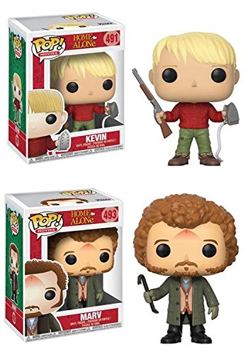 Funko POP Home Alone Kevin Mccallister Marv Stylized Vinyl Figure Set NEW