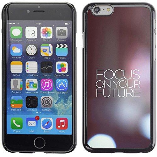 Graphic4You Life Teaches Us To Make Good Use of Time... Zitat Design Harte Hülle Case Tasche Schutzhülle für Apple iPhone 6 Plus / 6S Plus Design #4