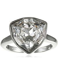 Swarovski mujer-anillo chapado en rodio cristal transparente - 507675