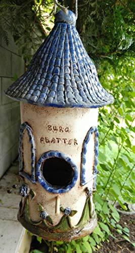 Keramik Nistkasten Deko Garten Gartendeko