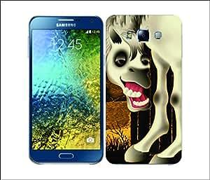 Galaxy Printed 2296 LongLegged Horse Hard Cover for Samsung A7