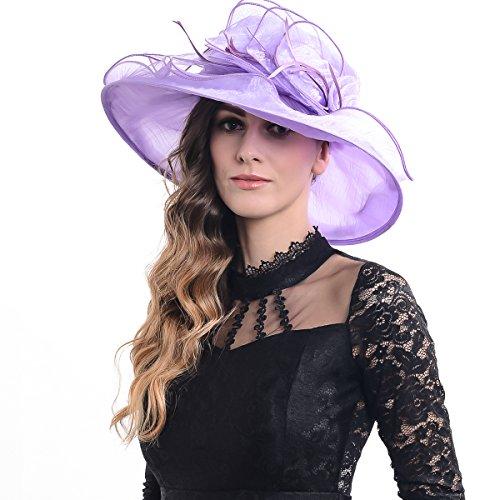 FORBUSITE - Capeline - Femme Gris gris Taille Unique SK048-Light Purple