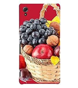 Fruit Basket 3D Hard Polycarbonate Designer Back Case Cover for Sony Xperia Z3+ :: Sony Xperia Z3 Plus :: Sony Xperia Z3+ dual :: Sony Xperia Z3 Plus E6533 E6553 :: Sony Xperia Z4