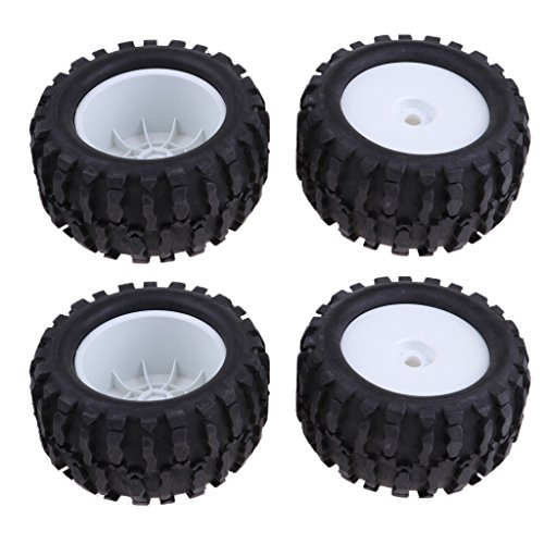 Baoblaze-4PCS-Pneumatici-160mm-Con-Cerchione-Per-18-HSP-HPI-RC4WD-AXIAL-RC-Rock-Crawler