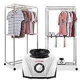 happy event_haushalt Mute Sterilisation Warmluft Wäschetrockner   Baby Kleidung Trockenmaschine