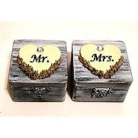 Personalizzata Proposta di sicurezza, Sposa di anello di sicurezza, Wedding Ring Box, Sig.ra anello di sicurezza, Coppia personalizzata anello di sicurezza, Signor Signora Box