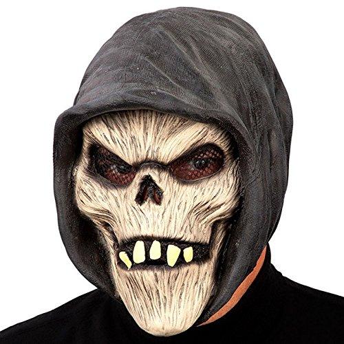 Masque Momie Capuche Latex Adulte - Halloween Accessoire Deguisement -124