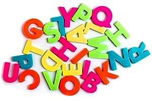 SUCK UK Lettres de l'alphabet autocollantes A-Z multicolores
