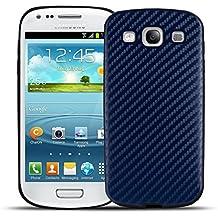 Smooth Carbono - Modelos Samsung - Azul, Samsung Galaxy S3 Neo / S3