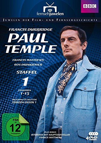 Francis Durbridge: Paul Temple - Staffel 1 - Die komplette ZDF-Fernseh-Saison 1 (Folgen 1-13 + Interview) - Fernsehjuwelen [4 DVDs]
