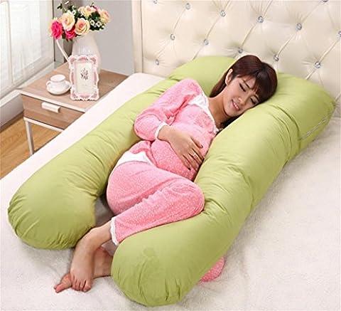 XXFFH® Pregnant women care waist sleep pillow u-type pillow multi-functional pillow breastfeeding mother pillow ,