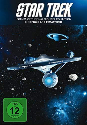 Star Trek I-X - Legends of the Final Frontier Collection (10 DVDs) (Trek Ix-x Star)