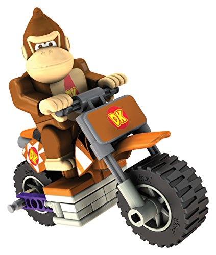 K'Nex 33126D - Mario Kart Donkey Kong mit Bike (Luigi Kart Knex)