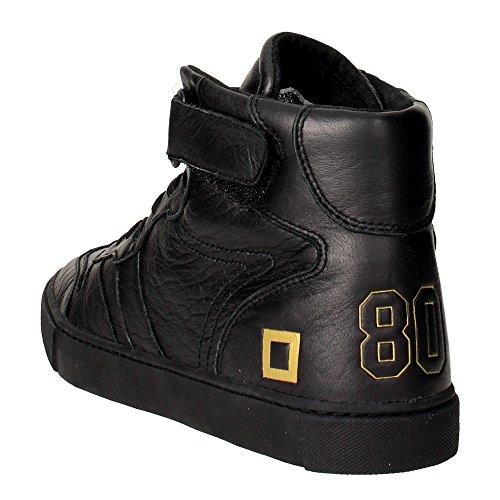 D.A.T.E. Slam Sneakers Alta Uomo Nero