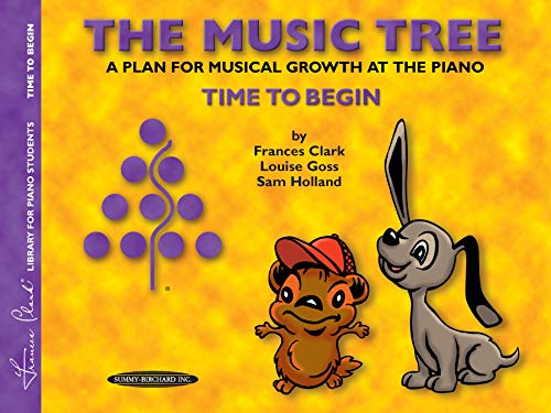 Clark-taste (The Music Tree Student's Book: Time to Begin -- A Plan for Musical Growth at the Piano (Frances Clark Library for Piano Students))