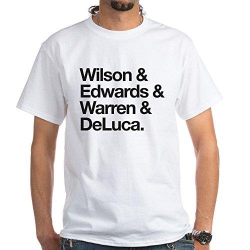 CafePress Grey's Intern Character Names White T-Shirt - 100% Cotton T-Shirt