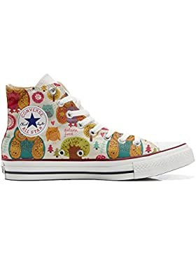 Converse All Star Customized - zapatos personalizados (Producto Artesano) Autumn Forest