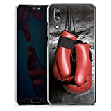 DeinDesign Huawei P20 Hülle Case Handyhülle Boxen Boxhandschuhe Fight