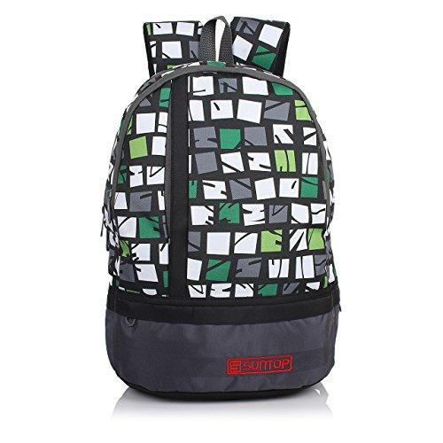 Suntop-Grey-Print-Pixel-Backpack