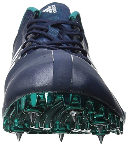 Adidas Performance Adizero Finesse piste Shoe Collegiate Navy/White/Green