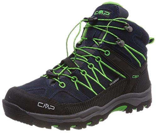 CMP Unisex Rigel Mid Wp Trekking-& Wanderstiefel , Blau (B.Blue-Gecko) , 41 EU
