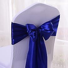 10 lazos de satén para sillas de boda, ...