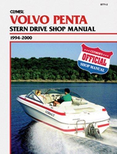 Clymer Volvo Penta 94 0 Handbuch -