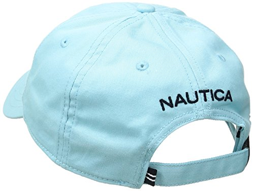 Nautica Herren Fca J Class 6 Panel Baseball Cap Regular Fit Hell Aquablau