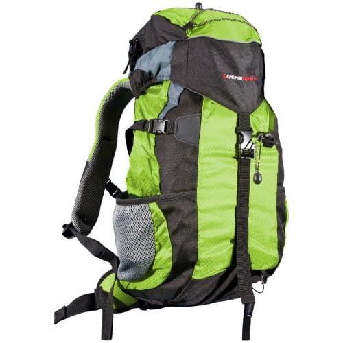 51UQNrlUZpL. SS500  - Ultrasport Outdoor and Trekking Backpack incl. Rain Cover, Outdoor Backpack for Camping, Hiking etc. - Hiking backpack for men and women, ultra-lightweight / 25 litre capacity, waterproof