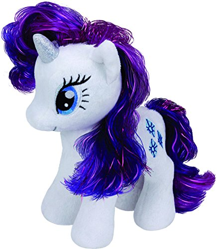 TY 41008 - My Little Pony Baby - Schmusetier Rarity, 15 cm