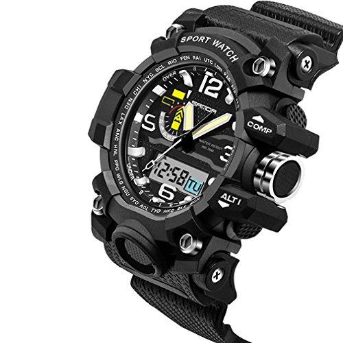 Fenkoo Herren / Paar Sportuhr / Militäruhr / Smart Uhr / Modeuhr / Armbanduhr digital / Japanischer QuartzLED / Chronograph / Wasserdicht /
