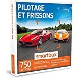 SMARTBOX - Coffret Cadeau - PILOTAGE ET FRISSONS - 750 activités : stages jusqu'à 6 tours : Ferrari F458, Lamborghini, Maserati