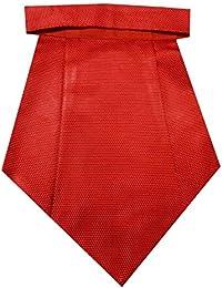Navaksha Micro Fibre Red Cravat
