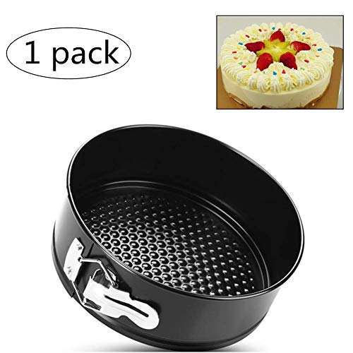 KANKOO Bake-Ware Tablett Bake-Ware Zinn Backform Non Stick Backblech Kuchenform mit abnehmbarem Boden Kohlenstoffstahl-Kuchenform Spülmaschinenfest Ware Zinn