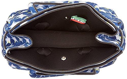 save my bag Petite Miss, Borsa a Mano Donna, 26x23x13 cm (W x H x L) Blu (Stars)