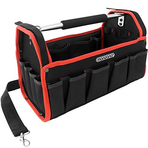 Werkzeugtasche Montagetasche Werkzeugbox Werkzeugkasten mit Schultergurt – XL – Modellauswahl - 6