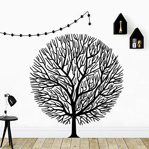 Moderne Mandala Baum Wandaufkleber Von Einrichtungs Dekorative Wandaufkleber Für Kinderzimmer Aufkleber Wandbild 57 cm X 63 cm