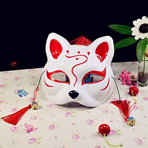 Kinder Glühwürmchen Kostüm - VAWAA Cosplay Anime Das Licht Der Glühwürmchen Wald Fuchs Maske Halloween Fuchs Katze Gesicht Exquisite Mode Geschenk.
