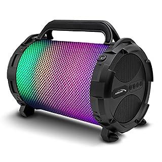 Audiocore AC885 Bazooka Bluetooth Speaker FM Radio MP3 Player MicroSD Rechargeable Portable Aux