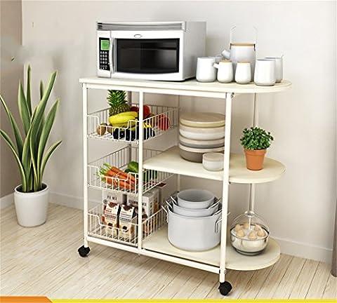 Küchenmöbel-WXP Regale Küchenregale Mikrowellenherd Creative Multifunktionslager Rack Standfuß WXP-Küchenschränke und