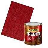 JOTUN TREBITT Lasur 686 Rot 0,75l - Skandinavische Holzschutzlasur