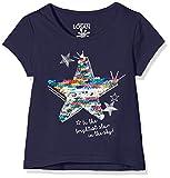 losan 816-1208AD, Camiseta para Niñas, Azul (Marino Claro), 5 años (Tamaño del fabricante:5)