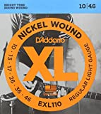 #8: D'Addario EXL110 Electric Regular Light Guitar Strings (Bronze)