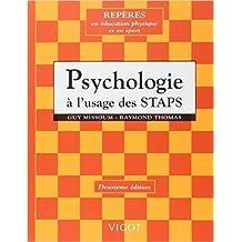 Psychologie, à l'usage des STAPS