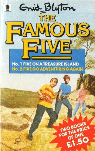 Five on a treasure island ; Five go adventuring again
